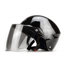 北京903系夏季黑色半盔